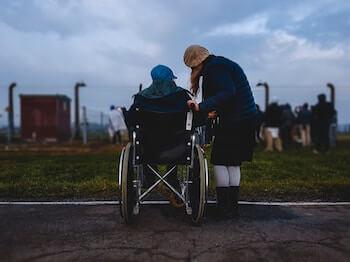 Persona amb diversitat funcional o discapacitada